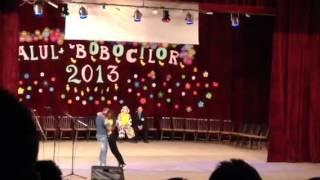 Alexandra si Sebi la balul bobocilor otelu-rosu 2013