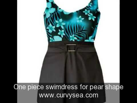 4d22405a2cba0 Plus Size Swimwear Tips for Pear Shape - YouTube