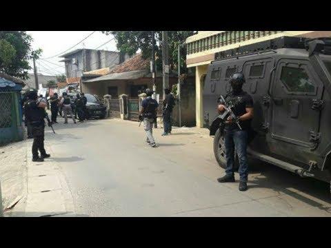 Tiga Terduga Teroris Ditangkap oleh Densus 88 di Tangerang
