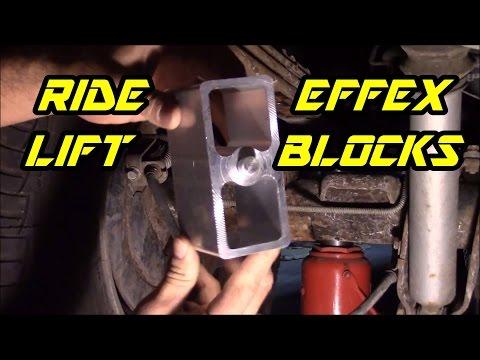 "How to install Ride Efffex 3"" lift blocks on Chevrolet Silverado 1500"