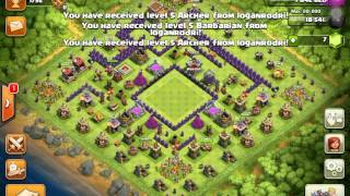 Clash of Clans - Awesome Gem Box Th8 Base! - New Series + New Subcriber!