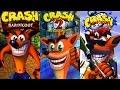 Crash Bandicoot Trilogy Complete 100 Walkthrough All Gems Boxes Crystals HD mp3