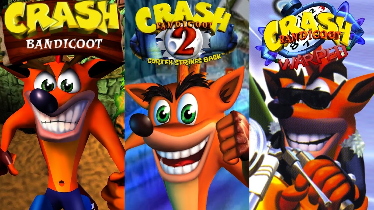 Crash Bandicoot Trilogy Complete 100 Walkthrough All