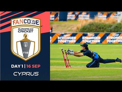 🔴 FanCode European Cricket T10 Cyprus,  Limassol | Day 1 T10 Live Cricket