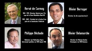 H. de Carmoy, P. Béchade, O.Delamarche, O.Berruyer : Réfléchissons ensemble