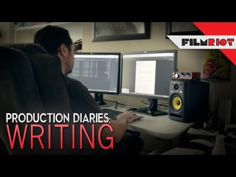 Production Diary #1 - Writing!