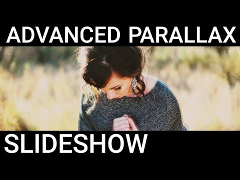 After Effects Advance Parallax Slideshow Tutorial - Clean Parallax Slideshow Tutorial!