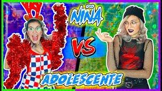 ¡NAVIDAD! Niña VS Adolescente - Lulu99
