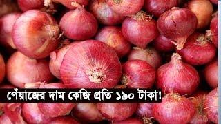 এক লাফে পেঁয়াজের দাম কেজি প্রতি ১৯০ টাকা! | Onion Price