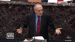Dershowitz: Re-Election Actions Not Impeachable, Part 1 | The View