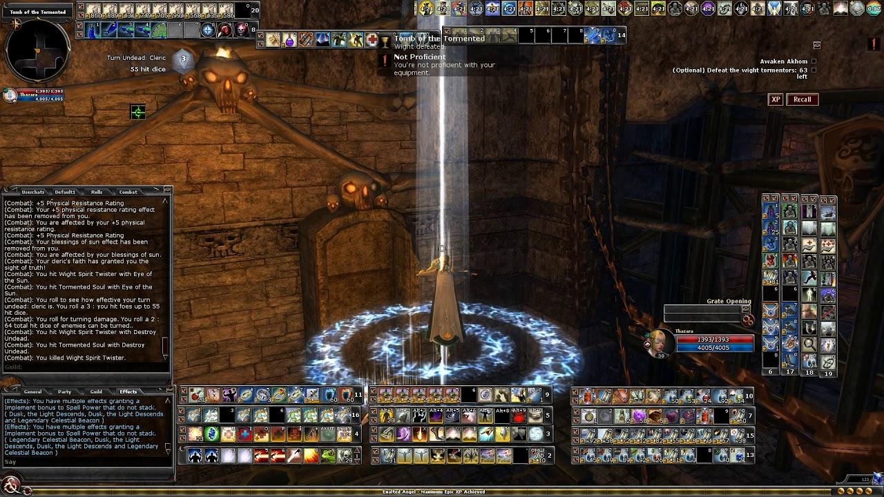 DDO First life dc caster cleric solo Mask of Deception EE