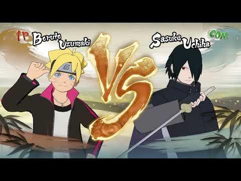 Sasuke Accepts Boruto As His Student   Naruto Shippuden Ultimate Ninja Storm 4 Game  