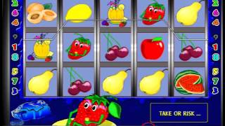 Как играть в слот онлайн Fruit Cocktail(Как играть в слот онлайн Клубнички Fruit Cocktail? Пример игры на автомате Клубнички., 2015-12-18T14:55:47.000Z)