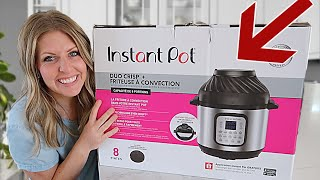 How to Use An Instant Pot - Instant Pot 101 - DUO CRISP + AIR FRYER