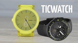 Обзор TicWatch Express и Sport. Смарт часы с GPS на Android Wear!