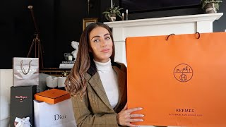 WHAT I GOT FOR CHRISTMAS | MY FIRST HERMES | Lydia Elise Millen