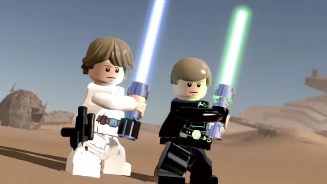 Lego Star Wars The Force Awakens All Luke Skywalker Characters