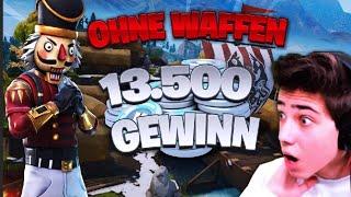 FORTNITE ÜBERLEBEN OHNE WAFFEN! (13.500 V-Bucks) Mit ARIAN | itsAssiTV