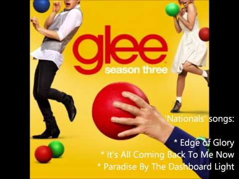 Glee - Nationals Season 3 songs compilation (New Directions setlist) [HD]