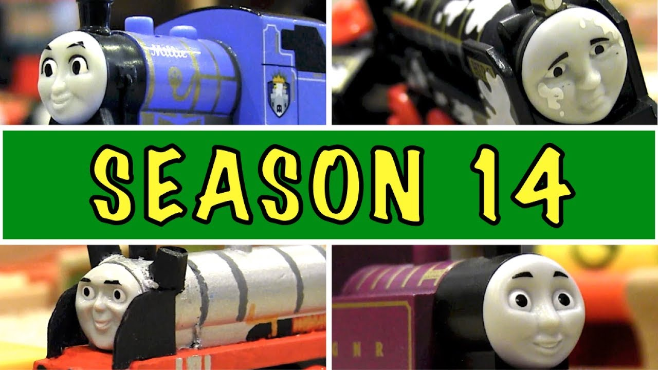Season 14 Compilation Episodes 196 210 Thomas Friends Wooden Railway Adventures