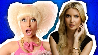 Nicki Minaj & Ivanka Trump Twitter Reactions