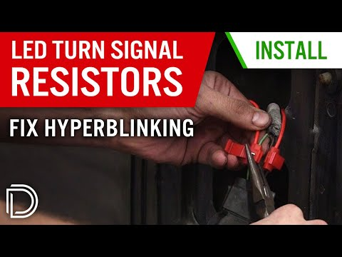 how to install resistors for led turn signals \u0026 fix hyperblinkinghow to install resistors for led turn signals \u0026 fix hyperblinking youtube