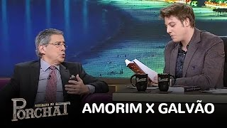 Paulo Henrique Amorim relembra saia justa com Galvão Bueno