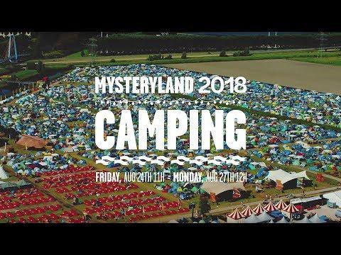 Camping trailer | Mysteryland 2018