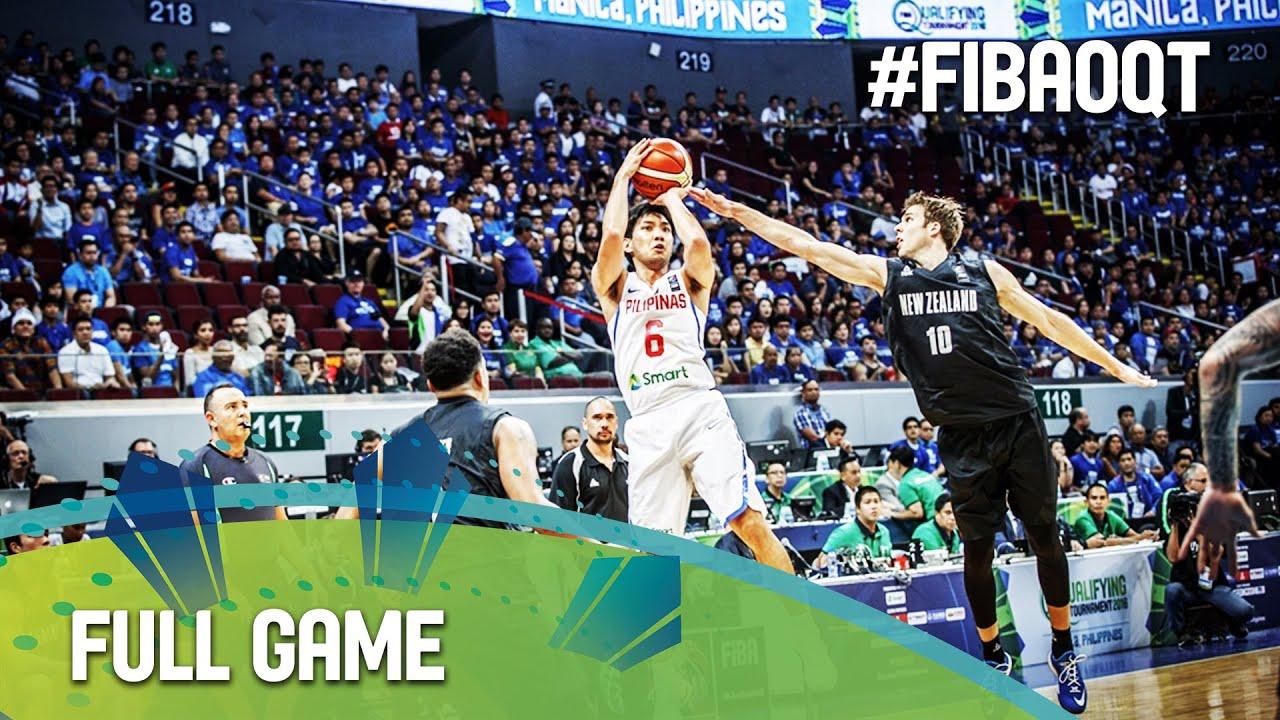 Philippines v New Zealand - Full Game