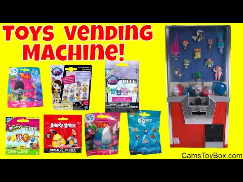 Toy Vending Machine Surprises Blind bags...