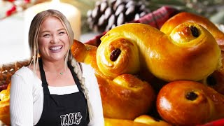 How to Make Saffron Buns (Lussebullar) by Alix • Tasty