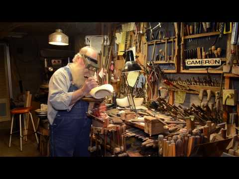 How To Chip Carve With Mark Thomas (Workshop Tour Part 2)