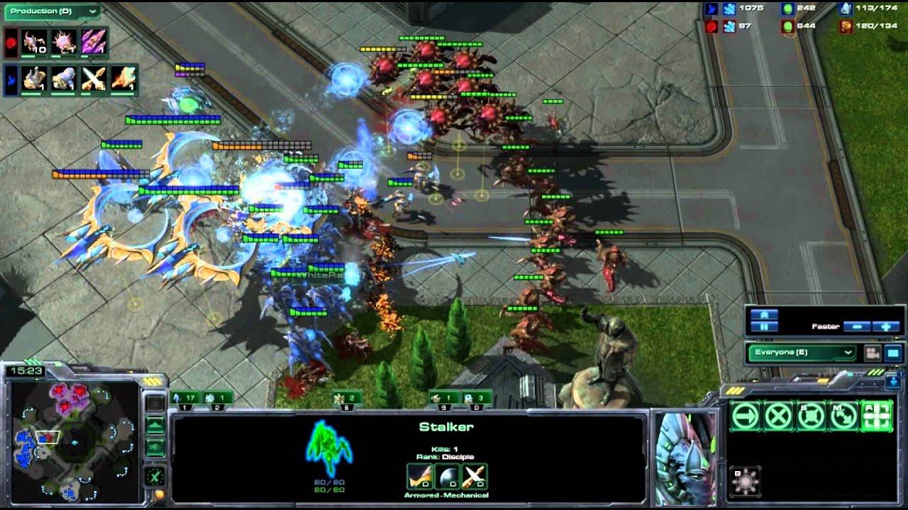 WhiteRa vs Sjow - PvZ - Korhal City - Starcraft 2 Heart of the Swarm