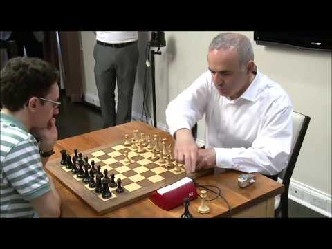 GM Kasparov (Russia) - GM Caruana (USA) 5 Min + PGN