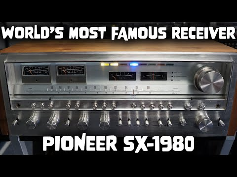 All About The MONSTER Pioneer SX 1980 Receiver! - Vintage HiFi Explained