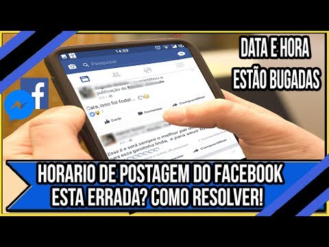Horário de Postagem do Facebook Esta Errada? Como Resolver!