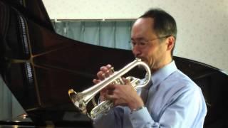 Cornet Solo - Atsuhiko Okamoto plays Aria con Variazioni [ G.F.Handel /  R.B. Fitzgerald ]