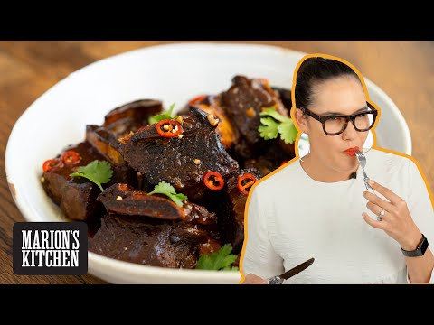AMAZINGLY Tender Sticky Beef Short Ribs | Marion's Kitchen