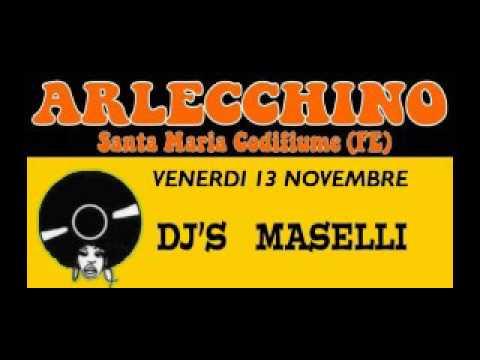 arlecchino - dj maselli - 13 nov 2015