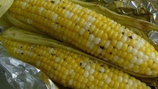 Baked In Foil Corn On The Cob - How To Make Fresh Corn On The Cob Instructions