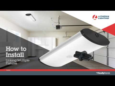 SGLL LED Garage Light Installation video