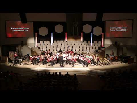 Ransom Middle School Symphonic Band - Best of the West