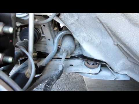 Remove And Replace Lower Control Arms Amp Stabilizer Bar