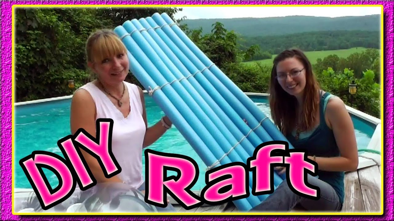 How To Make A Noodle Raft Youtube