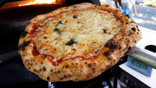 пицца из грузовиков ручной работы, двойной сыр - корейская уличная еда