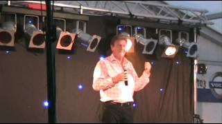 Danny Fabry - Vlaamse zanger - optreden Serpenthoekkermis Woumen 2013