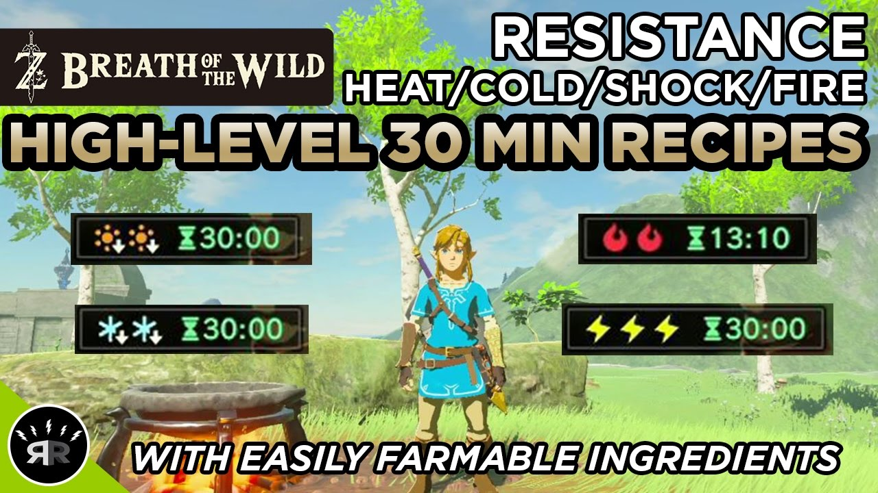Zelda breath of the wild best high level 30 min heatcoldshock zelda breath of the wild best high level 30 min heatcoldshockfire resistance recipes forumfinder Choice Image