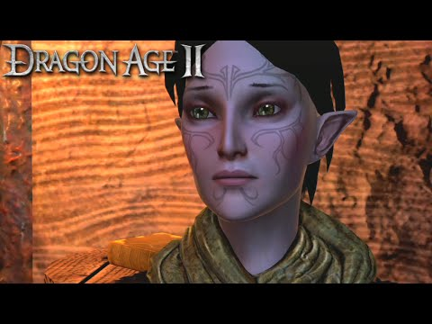 Dragon Age 2: Merrill Romance Complete All Scenes(Male Hawke)