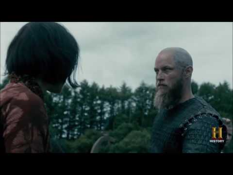 Ragnar gets vision of his life before he was happy with Lagertha, Gyda, young Björn and Athelstan.