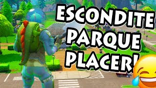PLAYING THE ESCONDITE IN PLACO